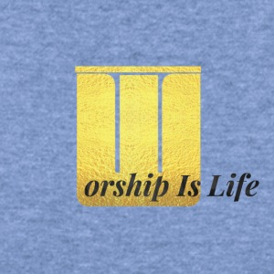 Worship Is Life - Women's Wideneck Sweatshirt