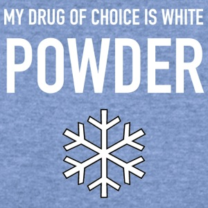 DRUG OF CHOICE - Women's Wideneck Sweatshirt