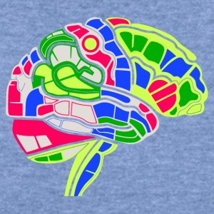 Brain Map - Women's Wideneck Sweatshirt