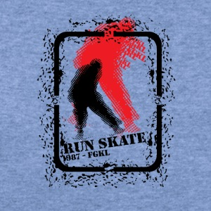 Run skate 1987 - Women's Wideneck Sweatshirt