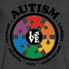 LOVE Autism Awareness - Men's V-Neck T-Shirt by Canvas