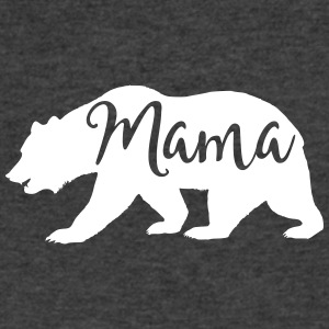 mama bear - Men's V-Neck T-Shirt by Canvas