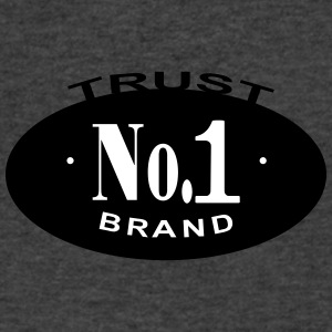 Trust No 1 - Men's V-Neck T-Shirt by Canvas