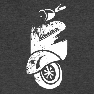 Vespa - Men's V-Neck T-Shirt by Canvas