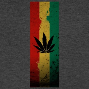 jamaica marijuana - Men's V-Neck T-Shirt by Canvas