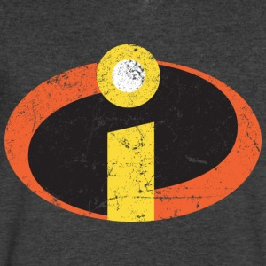 The Incredibles - Men's V-Neck T-Shirt by Canvas