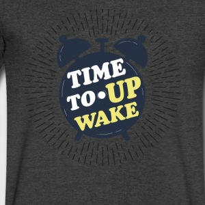 Wake up - Men's V-Neck T-Shirt by Canvas