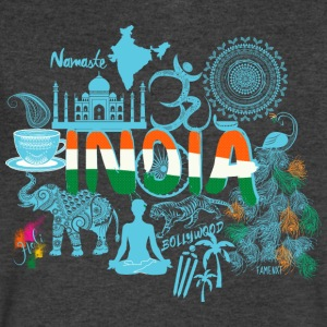 Welcome to India Shirt - Men's V-Neck T-Shirt by Canvas