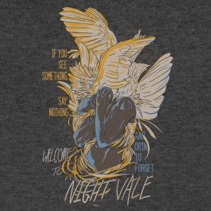 Nigh_Vale - Men's V-Neck T-Shirt by Canvas
