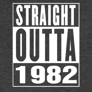 Straight Outa 1982 - Men's V-Neck T-Shirt by Canvas