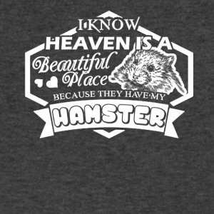 Heaven Have My Hamster Shirt - Men's V-Neck T-Shirt by Canvas