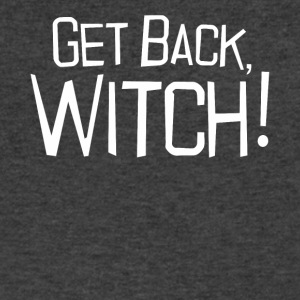 Get back Witch halloween shirt - Men's V-Neck T-Shirt by Canvas
