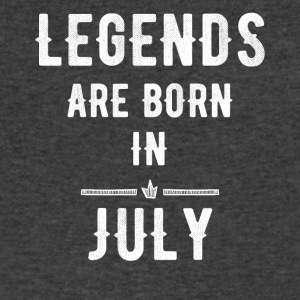 Legends are born in July - Men's V-Neck T-Shirt by Canvas