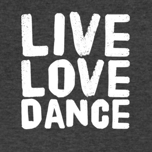 Live love dance - Men's V-Neck T-Shirt by Canvas