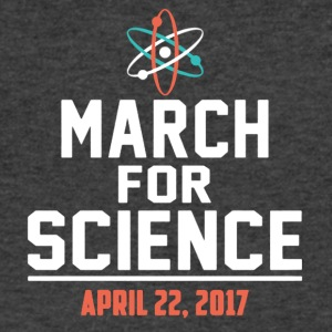 March For Science Earth Day 22 April Tee Shirts - Men's V-Neck T-Shirt by Canvas