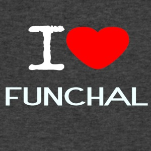 I LOVE FUNCHAL - Men's V-Neck T-Shirt by Canvas
