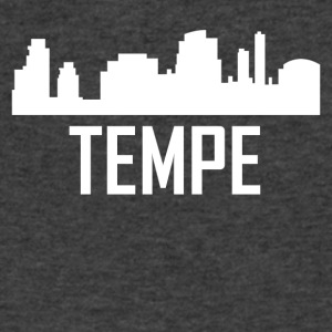 Tempe Arizona City Skyline - Men's V-Neck T-Shirt by Canvas