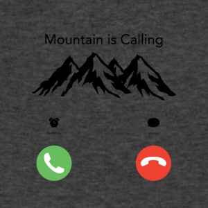 Mountain is Calling - Men's V-Neck T-Shirt by Canvas