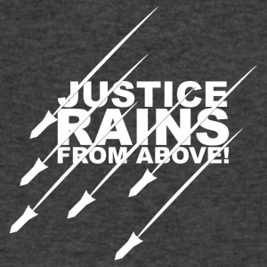 Justice Rains from Above! - Men's V-Neck T-Shirt by Canvas
