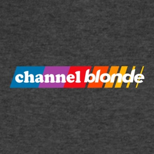 channel blonde - Men's V-Neck T-Shirt by Canvas
