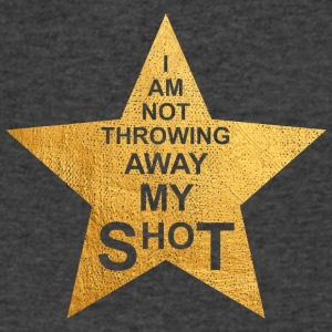 I am not throwing away my shot - Men's V-Neck T-Shirt by Canvas
