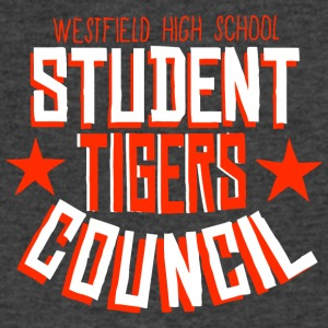 Westfield High School Student Tigers Council - Men's V-Neck T-Shirt by Canvas