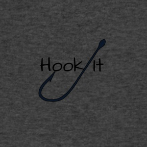 Hook It Fishing - Men's V-Neck T-Shirt by Canvas