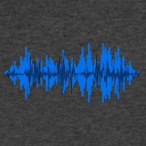 sound wave - Men's V-Neck T-Shirt by Canvas