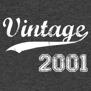 2001 - Men's V-Neck T-Shirt by Canvas