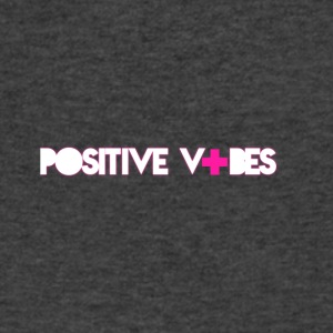 positive vibes - Men's V-Neck T-Shirt by Canvas