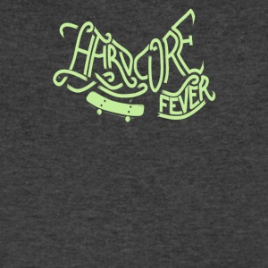 Hardcore fever - Men's V-Neck T-Shirt by Canvas