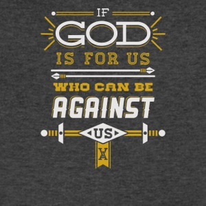 Dod is for us who can be against - Men's V-Neck T-Shirt by Canvas