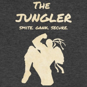 T-shirt League of Legends: The Jungler / Lee sin - Men's V-Neck T-Shirt by Canvas