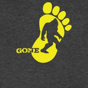 Bigfoot Gone - Men's V-Neck T-Shirt by Canvas