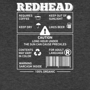 Redhead - Men's V-Neck T-Shirt by Canvas