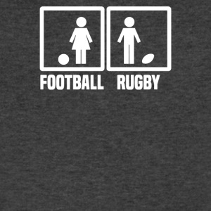 Rugby vs Football - Men's V-Neck T-Shirt by Canvas