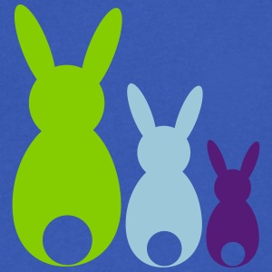 Easter bunnys - Men's V-Neck T-Shirt by Canvas