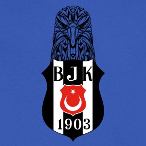 Besiktas - Men's V-Neck T-Shirt by Canvas