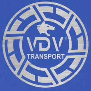 VDV Transport Logo Design - Men's V-Neck T-Shirt by Canvas