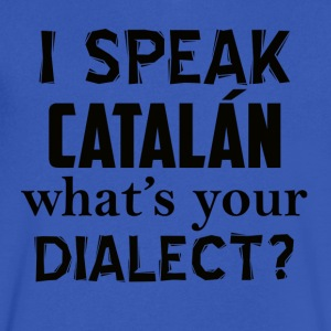 catalan dialect - Men's V-Neck T-Shirt by Canvas