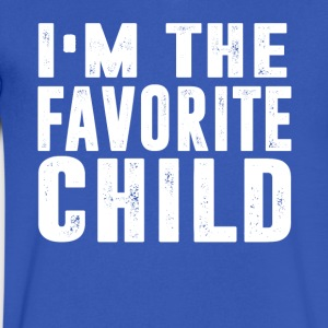 I m The Favorite CHILD - Men's V-Neck T-Shirt by Canvas