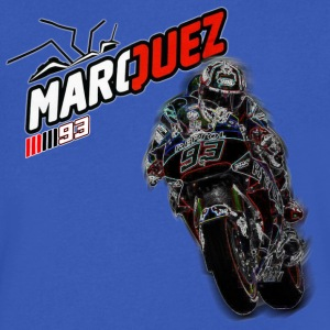 MARC MARQUEZ IN ACTION - Men's V-Neck T-Shirt by Canvas