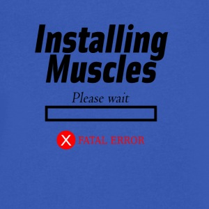 Muscle - Men's V-Neck T-Shirt by Canvas