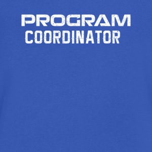program coordinator - Men's V-Neck T-Shirt by Canvas