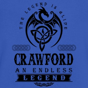CRAWFORD - Men's V-Neck T-Shirt by Canvas