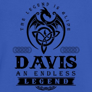 DAVIS - Men's V-Neck T-Shirt by Canvas