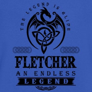 FLETCHER - Men's V-Neck T-Shirt by Canvas