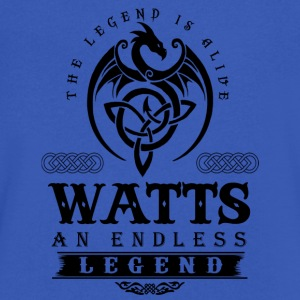 WATTS - Men's V-Neck T-Shirt by Canvas