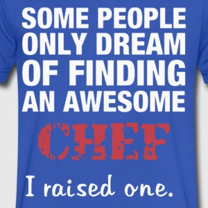 dreams of becoming a great chef - Men's V-Neck T-Shirt by Canvas
