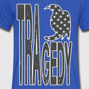 TRAGEDY_US - Men's V-Neck T-Shirt by Canvas